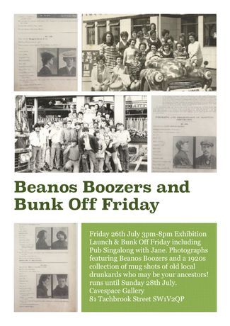 Beanos Boozers And Bunk Off Friday