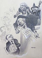 Drawings by William Gropper