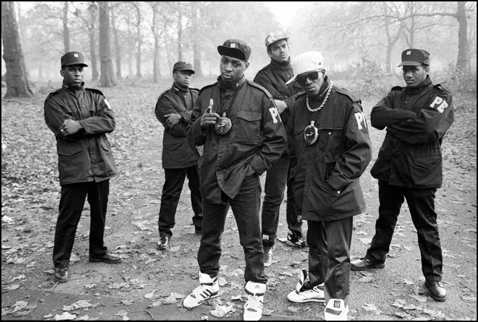 Public Enemy in Hyde Park, 1987 Photo by David Corio/Redferns/Getty Images