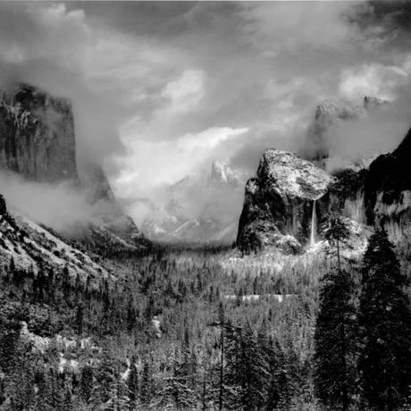 Ansel Adams Clearing Winter Storm, Yosemite National Park, CA, 1944 (Printed 1970's)