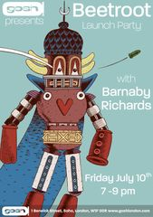 Beetroot Launch Party with Barnaby Richards