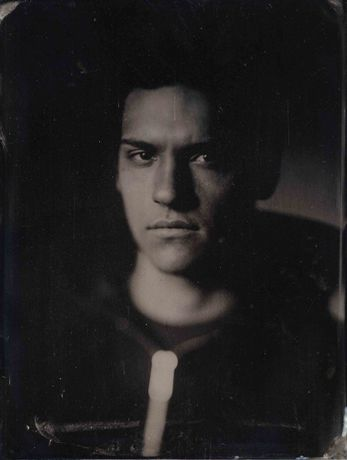 Toby, 2016. Tintype by Sean Hawkey.