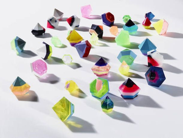 Ben Godward  Diamonds (Assorted), 2016  Various dimensions  urethane resin