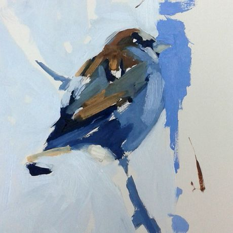 Esther Tyson, Small Blue Sparrow