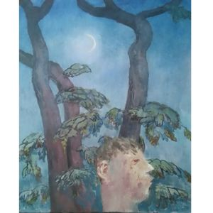 Richard Sorrell, A Man Whistling Beneath Some Trees