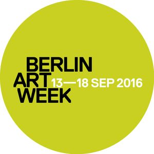 Berlin Art Week 2016