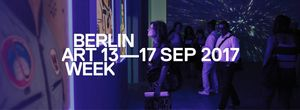 Berlin Art Week 2017