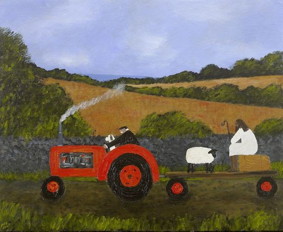 Gary Bunt. The Lost Shepherd, 2019. 20 x 24 cm. Oil on Canvas. Courtesy of the artist.