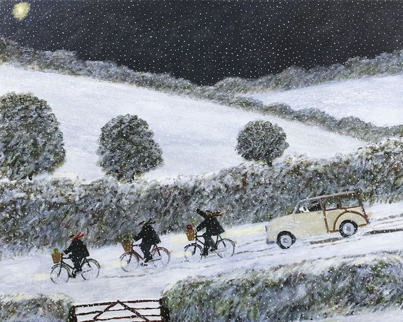 Gary Bunt. The Wise Men, 2019. Oil on Canvas. 32 x 40 cm. Courtesy of the artist.