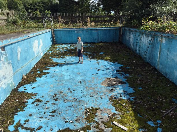 Beccy Strong Empty Pool