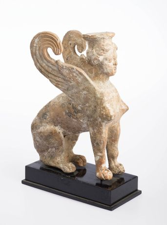 Figure of Sphinx, Italian, late 5th to early 4th century BC