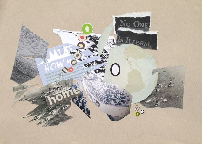 Between the Borders: Collage Making: Image 0