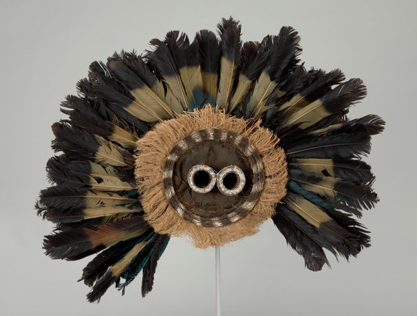 Culture: Pende (Democratic Republic of the Congo). Gitenga Mask. Mid-20th century. The Baltimore Museum of Art: Purchased as the gift of Amy Gould and Matthew Polk, Gibson Island, Maryland, BMA 2015.148