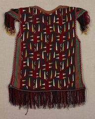 Child's tunic, 20th century, Uzbekistan, Central Asia, Turkmen, Tekke tribe