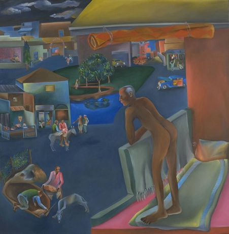Bhupen Khakhar. You Can't Please All 1981