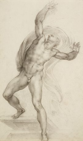 Michelangelo Buonarroti, The Risen Christ, c.1532-3.