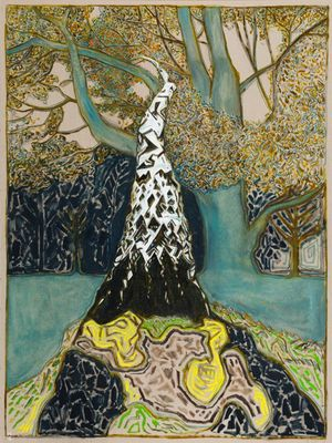 Billy Childish. The House at Grass Valley