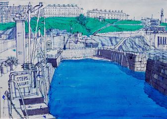 West Hoe by Richard Allman. Courtesy of the artist.