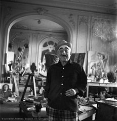 Image: Lee Miller, Picasso. Villa La Californie, Cannes, France, 1957 © the artist's estate