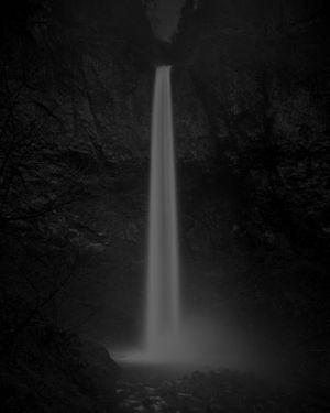 Adam Katseff, Waterfall I, 2014 72 x 60 inches Lacquered Pigment Print