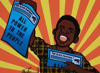 Emory Douglas, ALL POWER TO THE PEOPLE, 1969