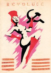 "Jacek ""Ponton"" Jankowski, October Revolution's Eve (poster for the Orange Alternative), 1988. Courtesy of the artist"
