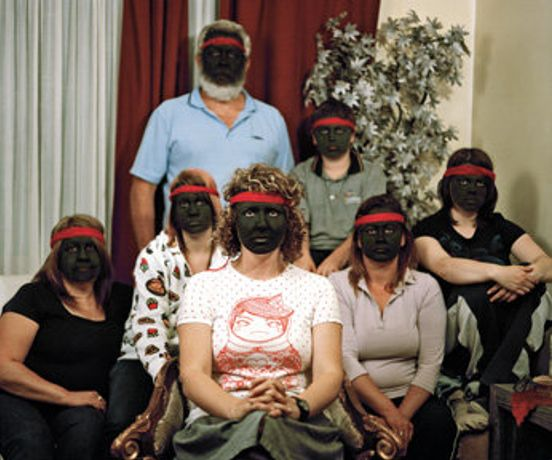 Bindi Cole Walthaurung Mob, 2008, 130 x 94 cm, pigment print on rag paper, courtesy the artist