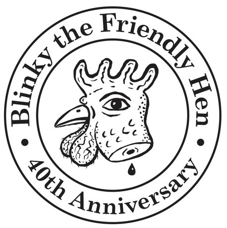 Blinky the Friendly Hen 40th Anniversary: Image 0