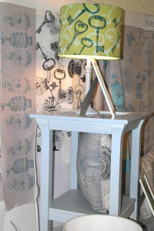 Block Printed Lampshades with Zoe Potter