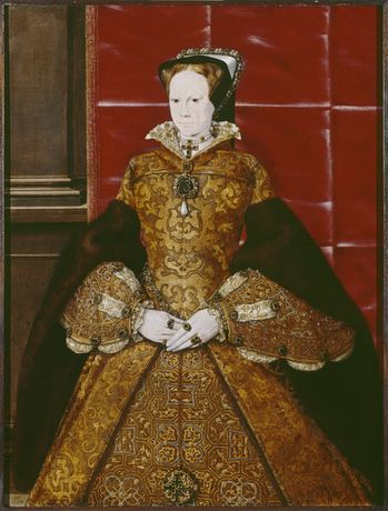 Portrait of Mary I, Hans Eworth (c. 1554)