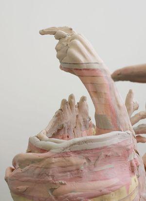 Juno Calypso at TJ Boulting art gallery in London