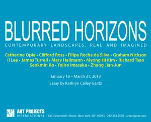 Blurred Horizons: Contemporary Landscapes, Real and Imagined