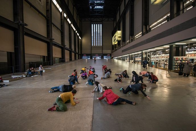 Boris Charmatz, If Tate Modern was Musée de la danse 2015 | Photo: Hugo Glendinning 2015