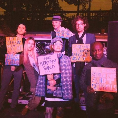 Bob and Roberta Smith and The Apathy Band: Image 0