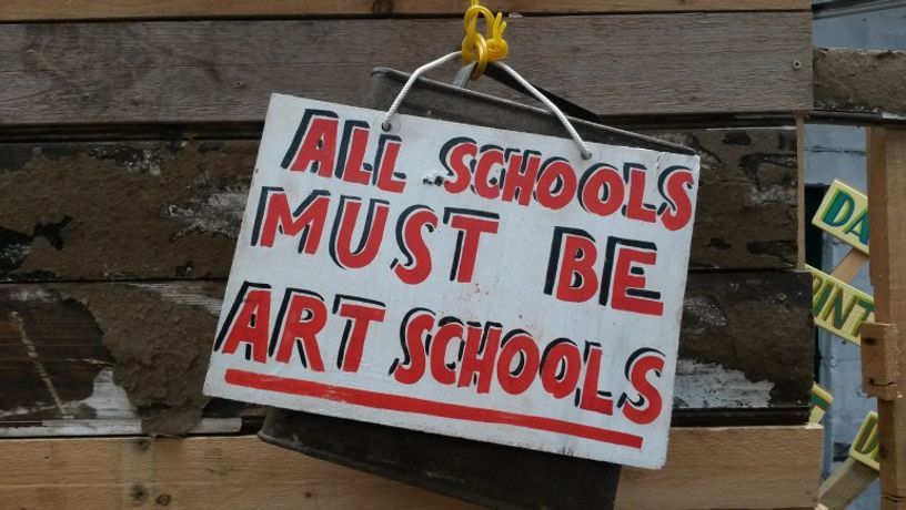 Bob and Roberta Smith: Art is Your Human Right: Image 0