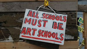 Bob and Roberta Smith: Art is Your Human Right