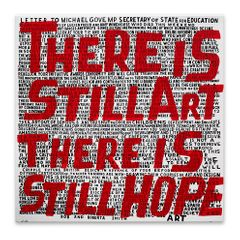 Bob and Roberta Smith. Save Our Galleries