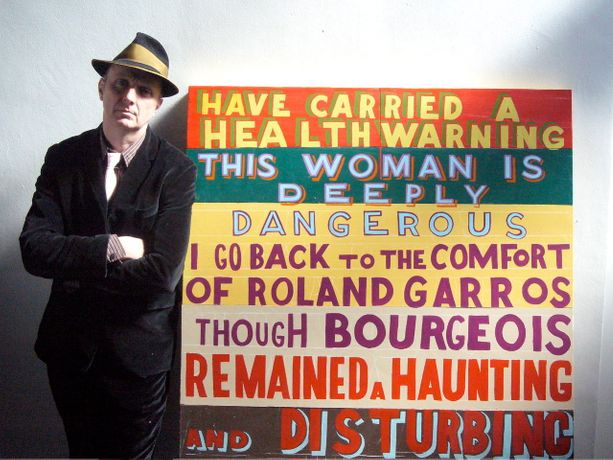 Bob and Roberta Smith 'This Artist is Deeply Dangerous': Image 0