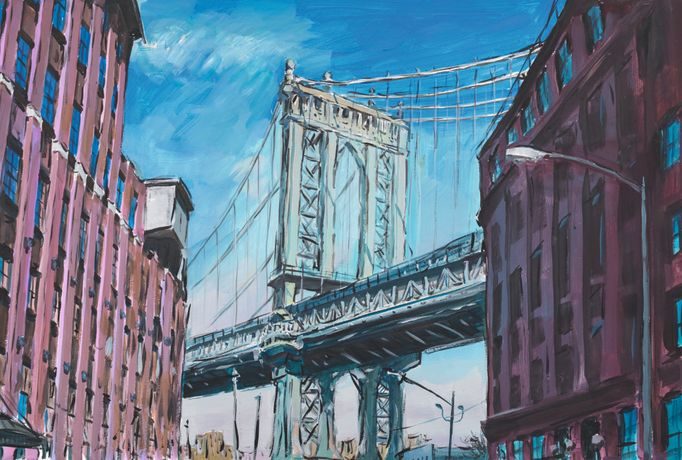 Manhattan Bridge, Downtown New York 2015-2016