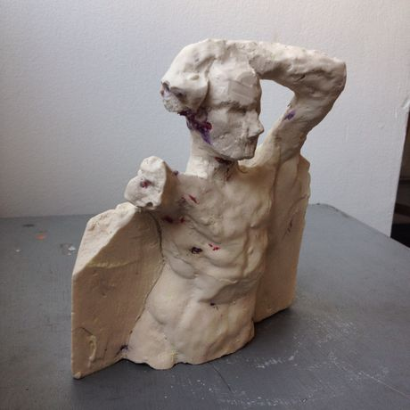 Body Politic - Painting and Sculpture by Michael Chance: Image 2