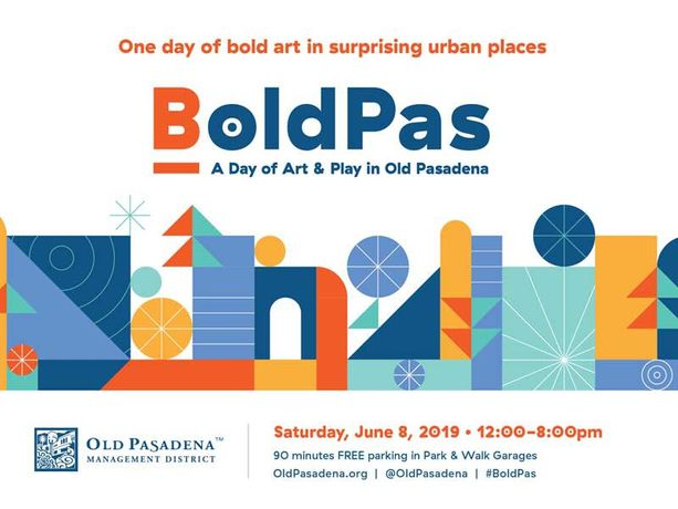 BoldPas: A Day of Art & Play, June 8, 2019