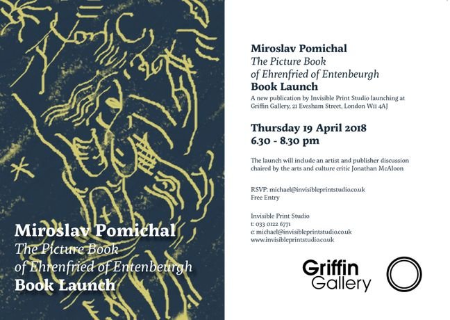 Book Launch | 'The Picture Book of Ehrenfried of Entenbeurgh': Image 0
