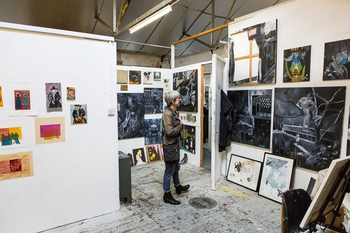 Bow Road Open Studios: Image 3