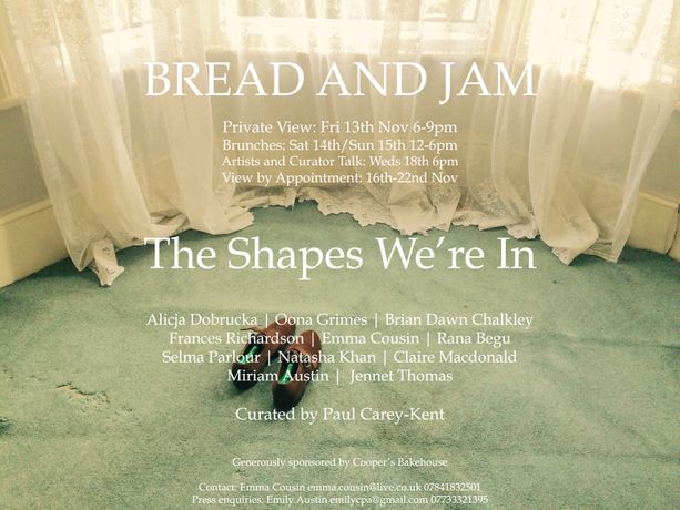 Bread and Jam III: The Shapes We're In