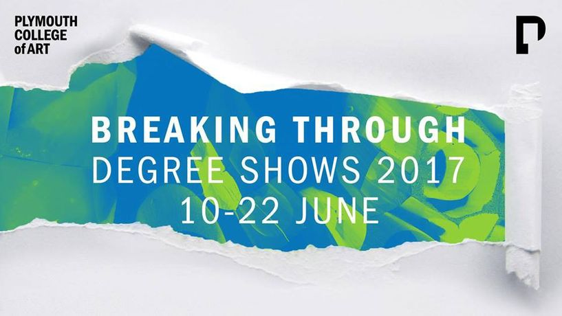 BREAKING THROUGH – Degree Shows 2017
