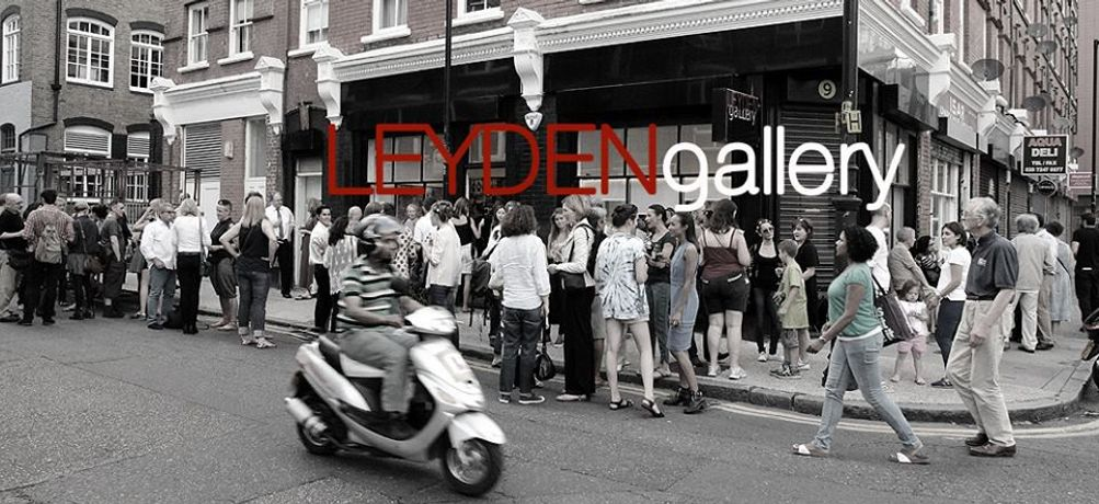 The Leyden Gallery in the City of London