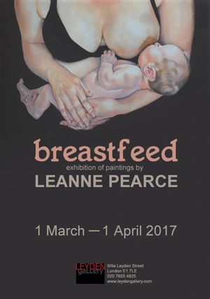 Breastfeed|Exhibition of paintings by Leanne Pearce