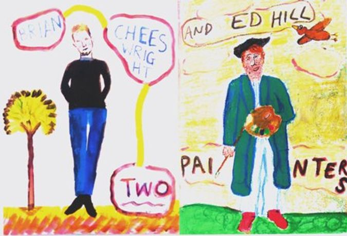 Brian Cheeswright and Ed Hill - Two Painters: Image 0