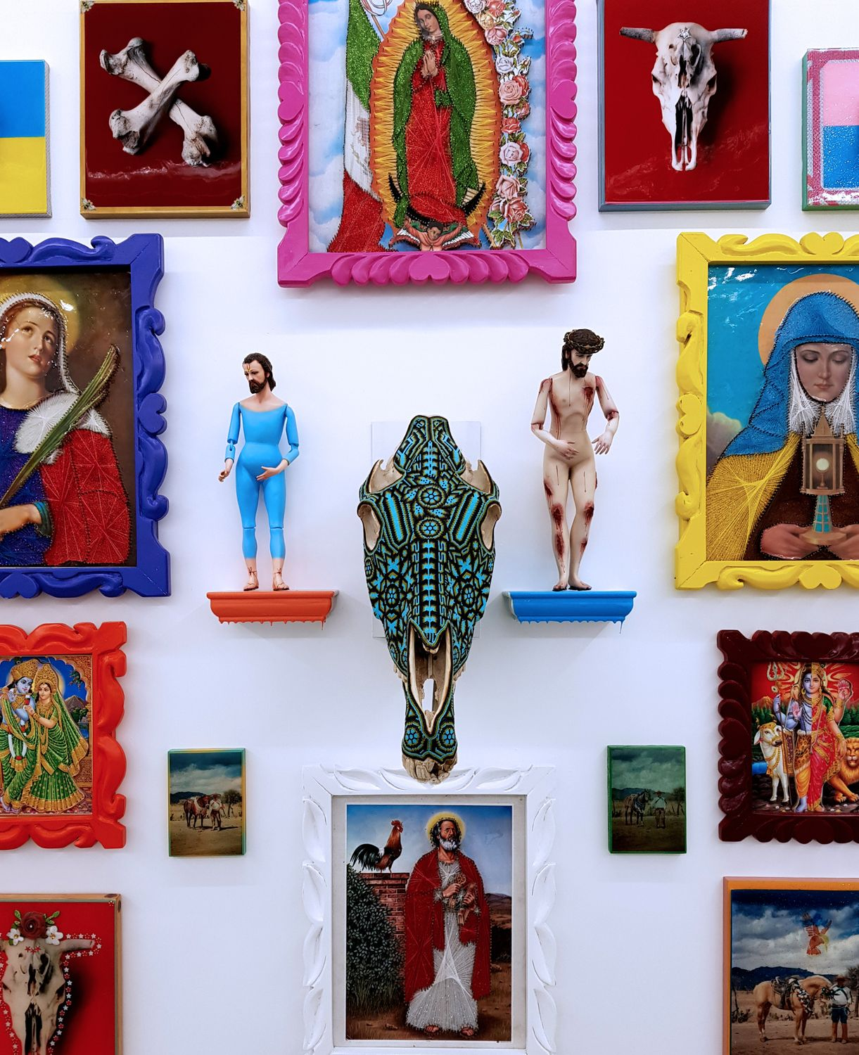 Brian Paumier Act Of Faith Exhibition At New Art Projects