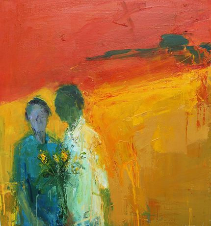 Henry Jabbour 'Love Knew It Was called' oil on linen